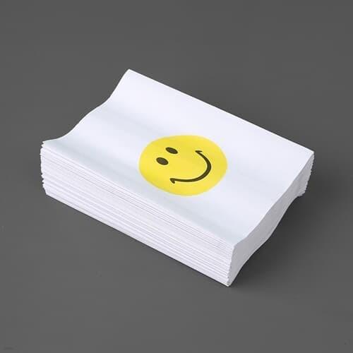스마일 로고 페이퍼백 90p세트 답례품포장 종이봉투