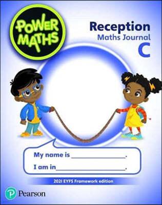 Power Maths Reception Journal C - 2021 edition