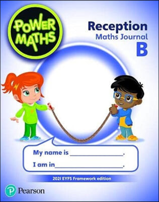 Power Maths Reception Journal B - 2021 edition