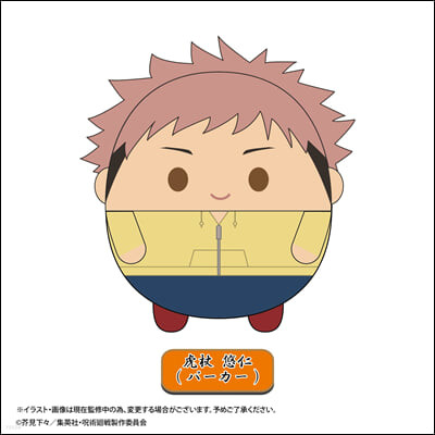 JJ-19A 呪術廻戰 ふわコロりん Msize2 虎杖悠仁(パ-カ-)