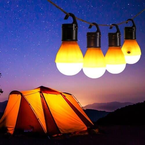 캠핑용 LED 걸이형 캠핑등 4p세트