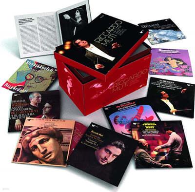 리카르도 무티 EMI, 워너 레이블 주요 연주 모음집 (Riccardo Muti: The Complete Warner Symphonic Recordings)