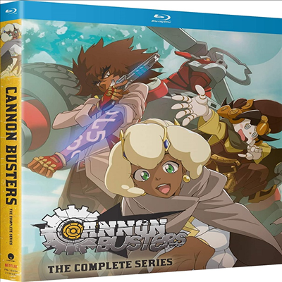 Cannon Busters: The Complete Series (캐논 버스터즈: 더 컴플리트 시리즈) (2019)(한글무자막)(Blu-ray)