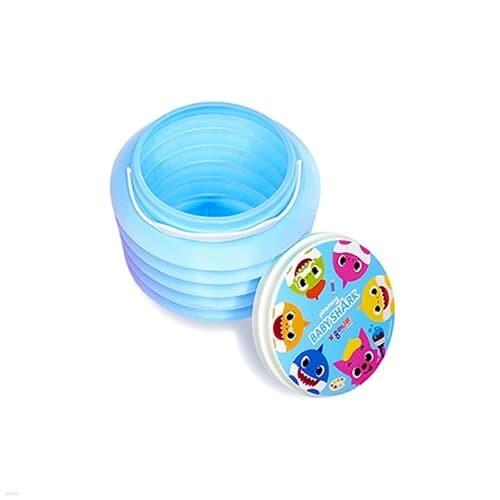 종이나라 핑크퐁 아기상어 미술용물통(블루)