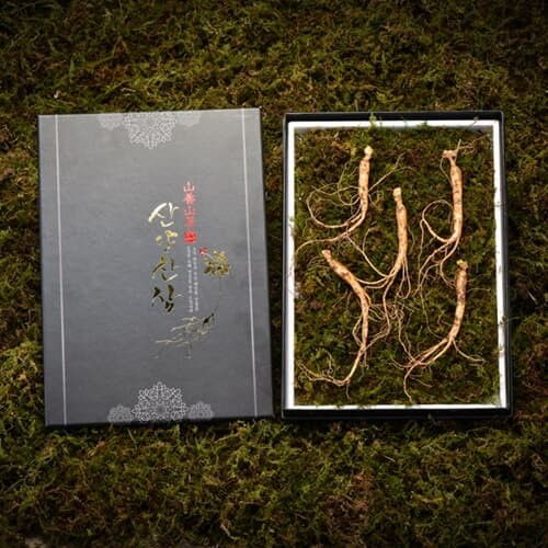 [고급선물포장]심봤다 삼 산양산삼 산양삼 장뇌삼 선물세트 5뿌리