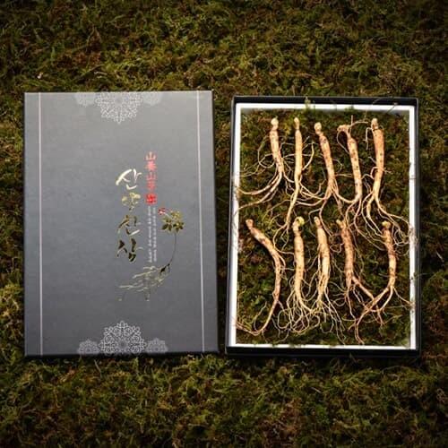 [고급선물포장]심봤다 삼 산양산삼 산양삼 장뇌삼 선물세트 10뿌리