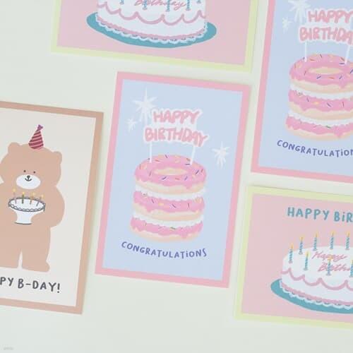 모모팝 모모카드 생일 카드 엽서