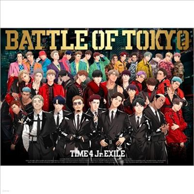 Generations, The Rampage, Fantastics, Ballistik Boyz From Exile Tribe - Battle Of Tokyo Time 4 Jr.Exile (1CD+3DVD) (초회생산한정반)
