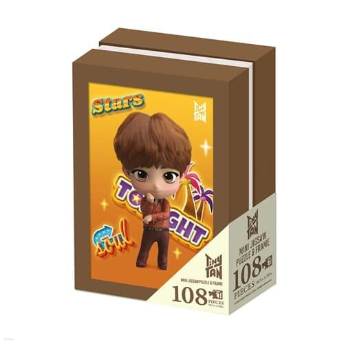 BTS 타이니탄 액자 퍼즐 108피스 진 Tiny TAN