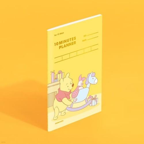 [모트모트] 디즈니 텐미닛 플래너 31DAYS - 푸(목마)