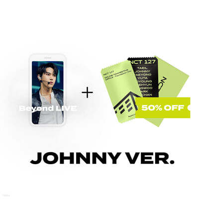 [JOHNNY] Beyond LIVE 관람권 + SPECIAL AR TICKET SET Beyond LIVE - NCT 127 ONLINE FANMEETING 'OFFICE : Foundation Day'