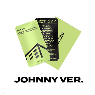 [JOHNNY] SPECIAL AR TICKET SET Beyond LIVE - NCT 127 ONLINE FANMEETING 'OFFICE : Foundation Day'