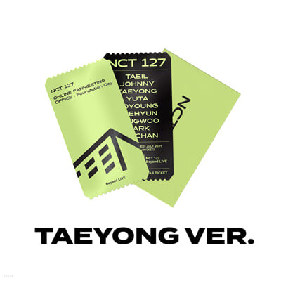 [TAEYONG] SPECIAL AR TICKET SET Beyond LIVE - NCT 127 ONLINE FANMEETING 'OFFICE : Foundation Day'