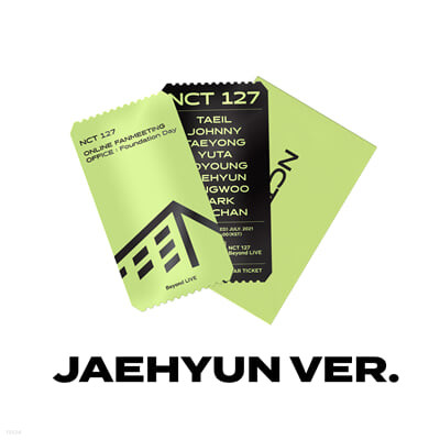 [JAEHYUN] SPECIAL AR TICKET SET Beyond LIVE - NCT 127 ONLINE FANMEETING 'OFFICE : Foundation Day'