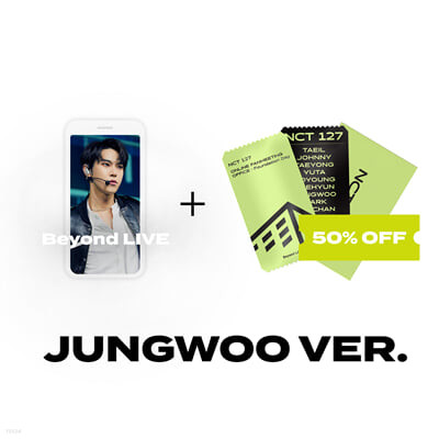 [JUNGWOO] Beyond LIVE 관람권 + SPECIAL AR TICKET SET Beyond LIVE - NCT 127 ONLINE FANMEETING 'OFFICE : Foundation Day'