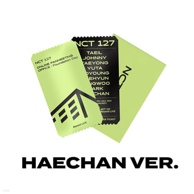 [HAECHAN] SPECIAL AR TICKET SET Beyond LIVE - NCT 127 ONLINE FANMEETING 'OFFICE : Foundation Day'
