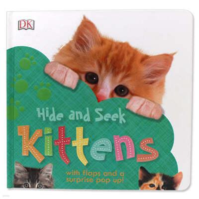 [스크래치 특가] DK Hide and Seek Kittens 아기고양이 찾기 (팝업북 / 플랩북)