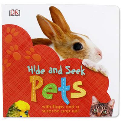 [스크래치 특가] DK Hide and Seek Pets 반려동물 찾기 (팝업북 / 플랩북)