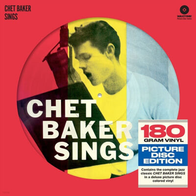 Chet Baker (쳇 베이커) - Sings [픽쳐 디스크 LP]
