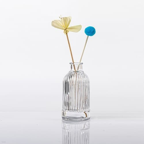 퍼퓸 링클 디퓨저용기 원형 유리 꽃병