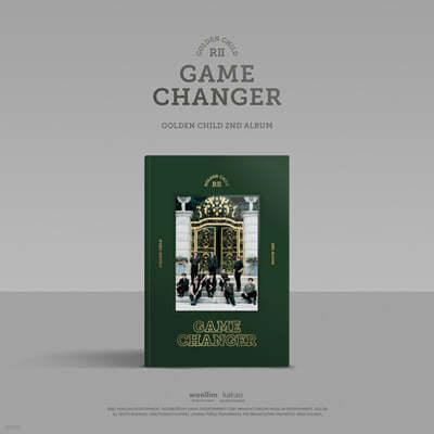 골든차일드 (Golden Child) 2집 - Game Changer [B ver.]