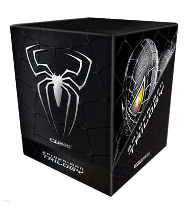 스파이더맨 트릴로지 원클릭 박스 (12Disc 4K UHD 스틸북 한정판) : 블루레이