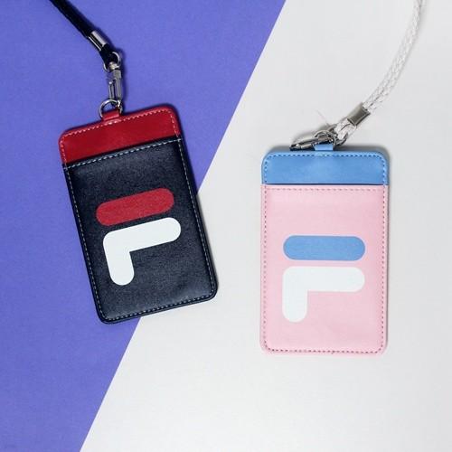 FILA휠라 워니프렌즈 목걸이 카드지갑 (교통카드 카드홀더 명함 파우치)