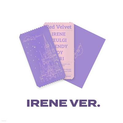 [IRENE] SPECIAL AR TICKET SET Beyond LIVE - Red Velvet Online Fanmeeting - inteRView vol.7 : Queendom