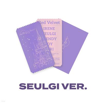 [SEULGI] SPECIAL AR TICKET SET Beyond LIVE - Red Velvet Online Fanmeeting - inteRView vol.7 : Queendom