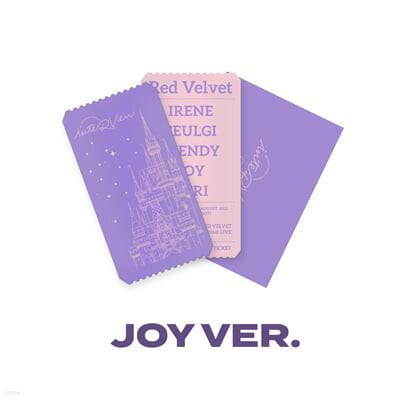 [JOY] SPECIAL AR TICKET SET Beyond LIVE - Red Velvet Online Fanmeeting - inteRView vol.7 : Queendom