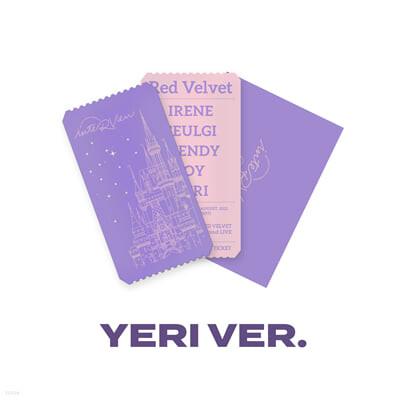 [YERI] SPECIAL AR TICKET SET Beyond LIVE - Red Velvet Online Fanmeeting - inteRView vol.7 : Queendom