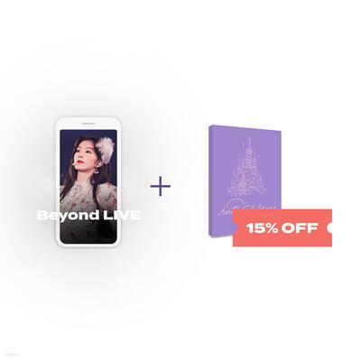 Beyond LIVE 관람권 + POSTCARD BOOK Beyond LIVE - Red Velvet Online Fanmeeting - inteRView vol.7 : Queendom