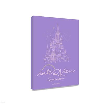 POSTCARD BOOK Beyond LIVE - Red Velvet Online Fanmeeting - inteRView vol.7 : Queendom