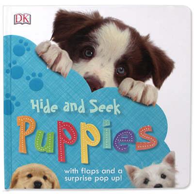 [스크래치 특가] DK Hide and Seek Puppies 강아지 찾기 (팝업북 / 플랩북)