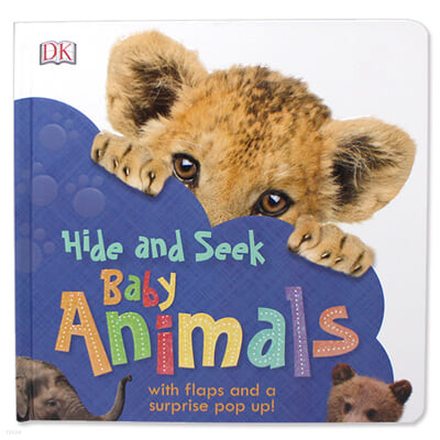 [스크래치 특가] DK Hide and Seek Baby Animals 아기 동물 찾기 (팝업북 / 플랩북)