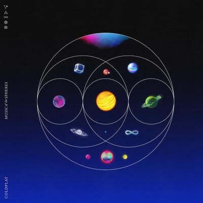 Coldplay (콜드플레이) - 9집 Music of the Spheres [리사이클 컬러 LP]
