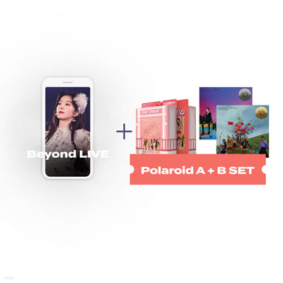 Beyond LIVE 관람권 + Red Velvet 미니앨범 6집 Queendom [Queens ver.] + [Girls ver.] Beyond LIVE - Red Velvet Online Fanmeeting : 'inteRView vol.7 : Queendom'