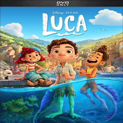 Luca (루카) (2021)(지역코드1)(한글무자막)(DVD)