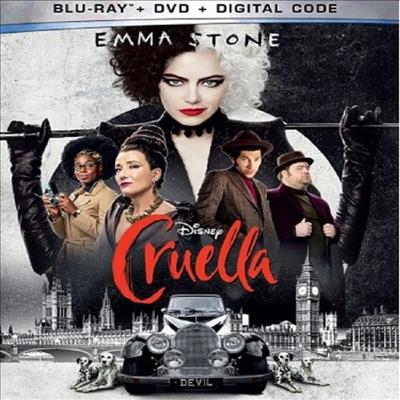 Cruella (크루엘라)(한글무자막)(Blu-ray+DVD)