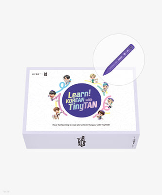 Learn! Korean With TinyTAN Book Package