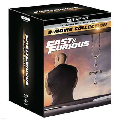 분노의 질주 9-Movie 콜렉션 (18Disc, 4K UHD+BD 아웃박스) : 블루레이