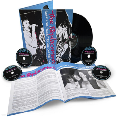 Replacements - Sorry Ma, Forgot To Take Out The Trash (Deluxe Edition)(4CD+LP)