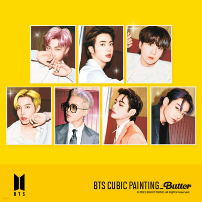 방탄소년단 (BTS) - DIY 큐빅 페인팅 Butter [V]