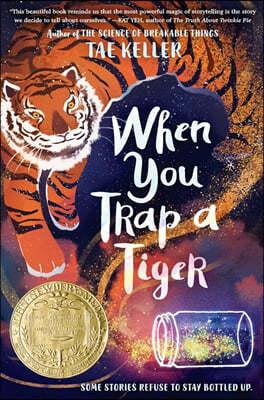 [스크래치 특가]When You Trap a Tiger : 2021 뉴베리 수상작