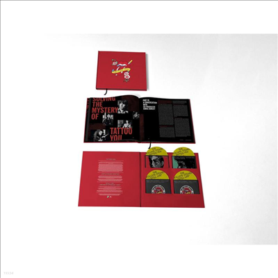 Rolling Stones - Tattoo You (40th Anniversary Edition)(Deluxe Edition)(4CD+Picture LP Box Set)