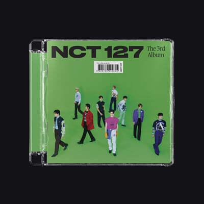 엔시티 127 (NCT 127) 3집 - Sticker [Jewel Case ver.] [커버 10종 중 1종 랜덤 발송]