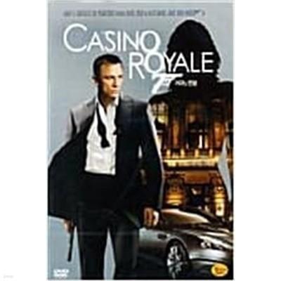 Casino Royale (007 제21탄 - 카지노 로얄) (DVD 1장)