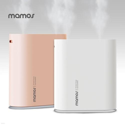[마모스] 듀얼 미니 가습기 MHC-1000V /USB 충전식 초음파 휴대용 사무실 탁상용 소형 무드등