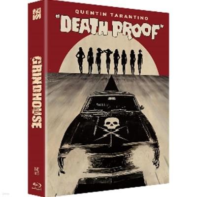 Blu-ray 그라인드 하우스 (데쓰 프루프 +플래닛 테러) (2Disc, 한정판 스틸북 렌티큘러 풀슬립A - 데쓰 프루프 버전 : 블루레이