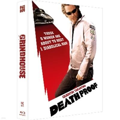 Blu-ray 그라인드 하우스 (데쓰 프루프 + 플래닛 테러) (2Disc, 한정판 스틸북 풀슬립): 블루레이